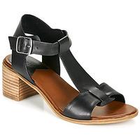 kengät Naiset Sandaalit ja avokkaat Kickers VALMONS Musta