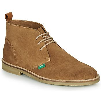 kengät Miehet Bootsit Kickers TYL Beige