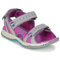 kengät Tytöt Urheilusandaalit Merrell PANTHER SANDAL 2.0 Pink / Grey