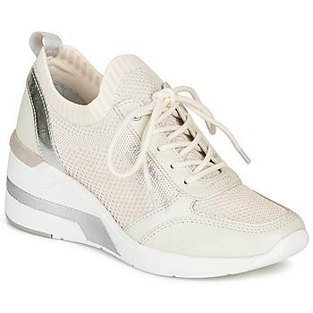 kengät Naiset Matalavartiset tennarit Mustang 1303303-203 White