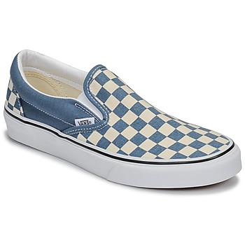 kengät Tennarit Vans CLASSIC SLIP-ON Blue / White
