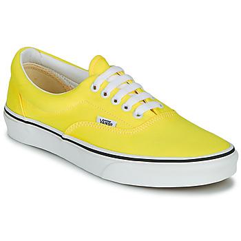 kengät Naiset Matalavartiset tennarit Vans ERA NEON Yellow