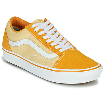 kengät Naiset Matalavartiset tennarit Vans COMFYCUSH OLD SKOOL Yellow