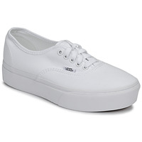 kengät Naiset Matalavartiset tennarit Vans AUTHENTIC PLATFORM 2.0 White