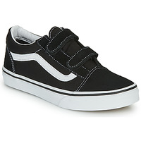kengät Lapset Matalavartiset tennarit Vans JN Old Skool V Black / White