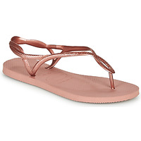 kengät Naiset Varvassandaalit Havaianas LUNA Pink / Kulta