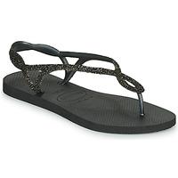 kengät Naiset Varvassandaalit Havaianas LUNA PREMIUM Black