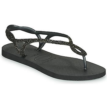 kengät Naiset Varvassandaalit Havaianas LUNA PREMIUM Musta