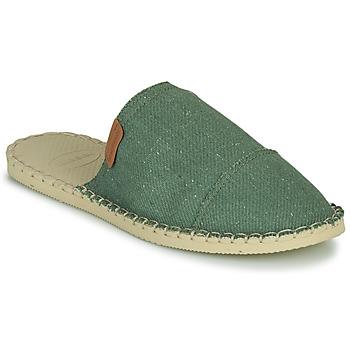 kengät Naiset Sandaalit Havaianas ORIGINE FREE Vihreä