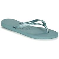 kengät Naiset Varvassandaalit Havaianas SLIM Sininen