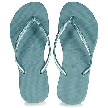 kengät Naiset Varvassandaalit Havaianas SLIM Blue