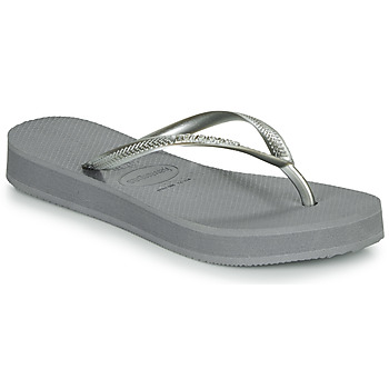 kengät Naiset Varvassandaalit Havaianas SLIM FLATFORM Grey