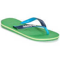 kengät Varvassandaalit Havaianas BRASIL MIX Green / Blue