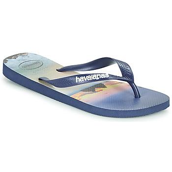 kengät Miehet Varvassandaalit Havaianas HYPE Laivastonsininen