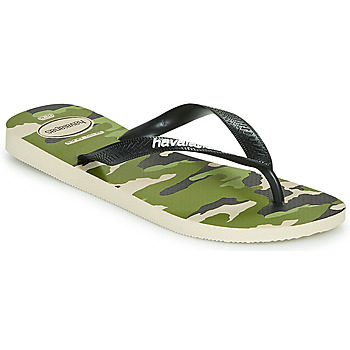 kengät Miehet Varvassandaalit Havaianas TOP CAMU Green