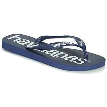kengät Varvassandaalit Havaianas TOP LOGOMANIA Sininen / Sininen