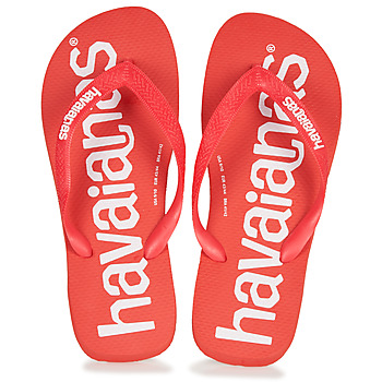 kengät Miehet Varvassandaalit Havaianas TOP LOGOMANIA Red