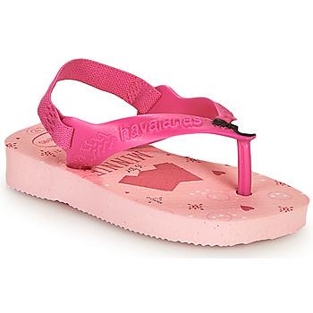 kengät Tytöt Varvassandaalit Havaianas BABY DISNEY CLASSICS II Vaaleanpunainen