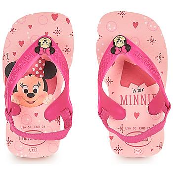 kengät Tytöt Varvassandaalit Havaianas BABY DISNEY CLASSICS II Pink
