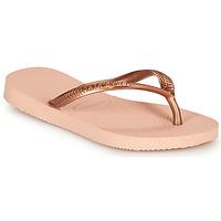 kengät Tytöt Varvassandaalit Havaianas SLIM Vaaleanpunainen