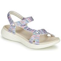 kengät Naiset Sandaalit ja avokkaat Skechers ON-THE-GO Monivärinen