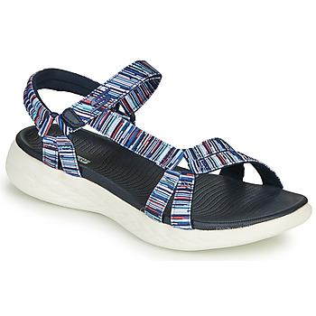 kengät Naiset Sandaalit ja avokkaat Skechers ON-THE-GO Moniväri