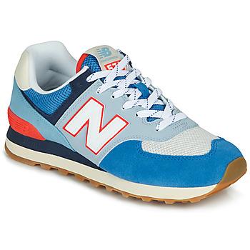 kengät Matalavartiset tennarit New Balance 574 Sininen / Harmaa / Orange