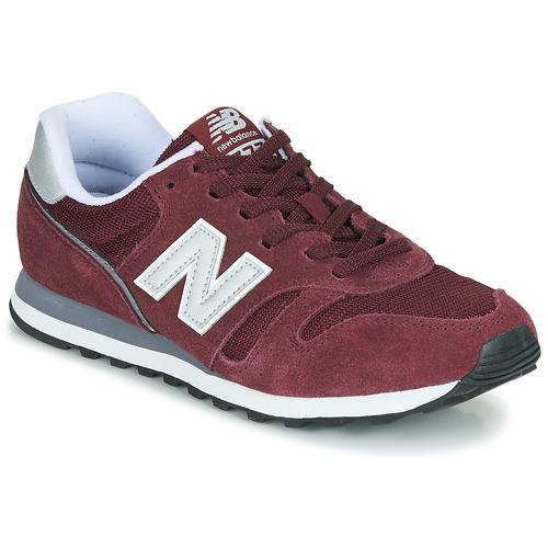 kengät Miehet Matalavartiset tennarit New Balance 373 Burgundy