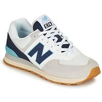 kengät Miehet Matalavartiset tennarit New Balance 574 Harmaa / Sininen