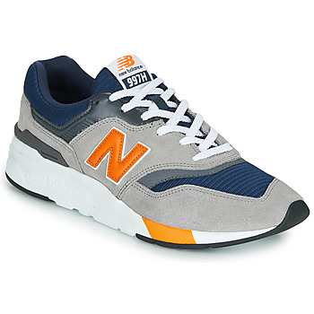 kengät Miehet Matalavartiset tennarit New Balance CM997HEX Sininen / Harmaa / Orange