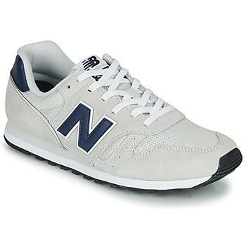 kengät Matalavartiset tennarit New Balance 373 Beige / Laivastonsininen