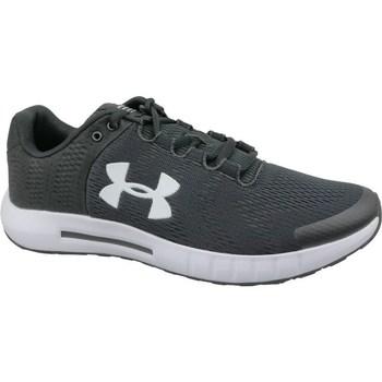 kengät Miehet Juoksukengät / Trail-kengät Under Armour Micro G Pursuit BP Mustat