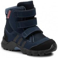 kengät Lapset Talvisaappaat adidas Originals CW Holtanna Snow CF Mustat, Tummansininen