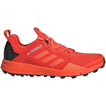 kengät Miehet Vaelluskengät adidas Originals Terrex Speed LD Oranssin väriset