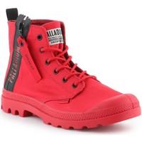 kengät Miehet Korkeavartiset tennarit Palladium Pampa Unzipped 76443-614-M red