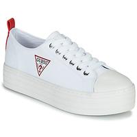 kengät Naiset Matalavartiset tennarit Guess BRIGS White