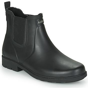 kengät Miehet Kumisaappaat Aigle CARVILLE Black