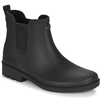 kengät Naiset Kumisaappaat Aigle CARVILLE Black