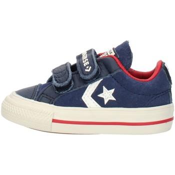 kengät Pojat Matalavartiset tennarit Converse 762767C Blue
