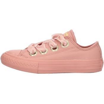 kengät Tytöt Matalavartiset tennarit Converse 661878 Pink