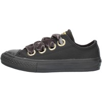 kengät Tytöt Matalavartiset tennarit Converse 661878 Black