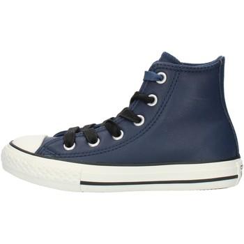 kengät Pojat Korkeavartiset tennarit Converse 662809C Blue