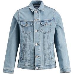 vaatteet Pojat Farkkutakki Jack & Jones 12149371 JJIALVIN JJACKET CR 045 IK JR BLUE DENIM Azul