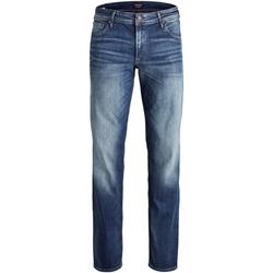 vaatteet Miehet Farkut Jack & Jones 12157492 JJICLARK JJORIGINAL JOS 178 PS BLUE DENIM Azul