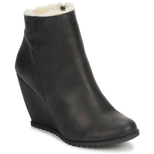 kengät Naiset Nilkkurit D.Co Copenhagen SALLY ZIPPER Musta