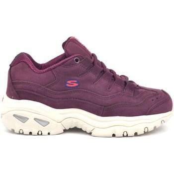 kengät Naiset Matalavartiset tennarit Skechers Energy Wave Dancer Violetit