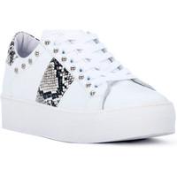 kengät Naiset Matalavartiset tennarit At Go GO GALAXY BIANCO Bianco