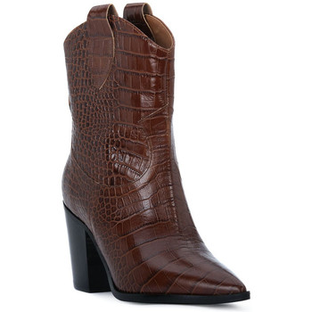 kengät Naiset Nilkkurit Priv Lab CHOCO COCCO Marrone