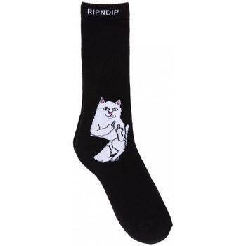 Asusteet / tarvikkeet Miehet Sukat Ripndip Lord nermal socks Musta