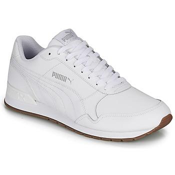 kengät Miehet Matalavartiset tennarit Puma ST RUNNER White